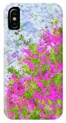 Pink And Purple Phlox IPhone Case