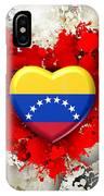 Love Venezuela IPhone Case