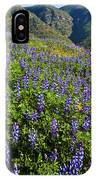 Lupine Hilltop IPhone Case