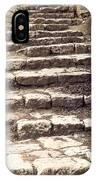 Maccabean Steps St Peter In Gallicantu IPhone Case