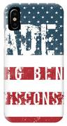 Made In Big Bend, Wisconsin IPhone Case