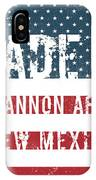 Made In Cannon Afb, New Mexico IPhone Case