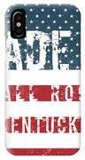 Made In Fall Rock, Kentucky IPhone Case