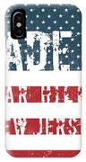 Made In Far Hills, New Jersey IPhone Case