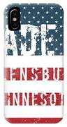 Made In Flensburg, Minnesota IPhone Case