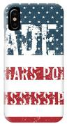 Made In Friars Point, Mississippi IPhone Case