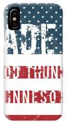 Made In Good Thunder, Minnesota IPhone Case