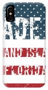 Made In Grand Island, Florida IPhone Case