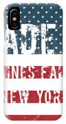 Made In Haines Falls, New York IPhone Case