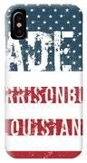 Made In Harrisonburg, Louisiana IPhone Case
