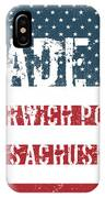 Made In Harwich Port, Massachusetts IPhone Case