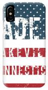 Made In Lakeville, Connecticut IPhone Case