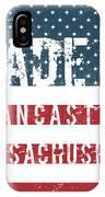 Made In Lancaster, Massachusetts IPhone Case