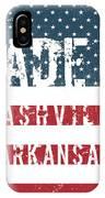 Made In Nashville, Arkansas IPhone Case