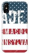 Made In Nemacolin, Pennsylvania IPhone Case