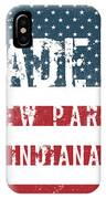 Made In New Paris, Indiana IPhone Case