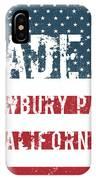 Made In Newbury Park, California IPhone Case