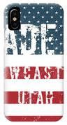 Made In Newcastle, Utah IPhone Case