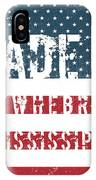 Made In Newhebron, Mississippi IPhone Case