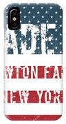 Made In Newton Falls, New York IPhone Case