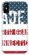 Made In North Granby, Connecticut IPhone Case