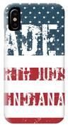 Made In North Judson, Indiana IPhone Case