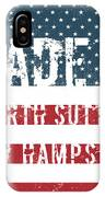 Made In North Sutton, New Hampshire IPhone Case