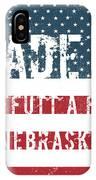 Made In Offutt A F B, Nebraska IPhone Case