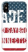 Made In Old Saybrook, Connecticut IPhone Case