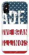 Made In Olive Branch, Illinois IPhone Case