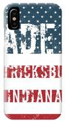 Made In Patricksburg, Indiana IPhone Case