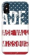 Made In Peace Valley, Missouri IPhone Case