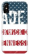 Made In Pickwick Dam, Tennessee IPhone Case