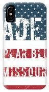 Made In Poplar Bluff, Missouri IPhone Case