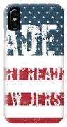 Made In Port Reading, New Jersey IPhone Case