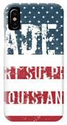 Made In Port Sulphur, Louisiana IPhone Case