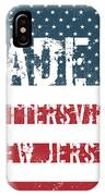 Made In Pottersville, New Jersey IPhone Case