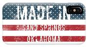 Made In Sand Springs, Oklahoma IPhone Case