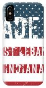 Made In West Lebanon, Indiana IPhone Case