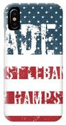 Made In West Lebanon, New Hampshire IPhone Case