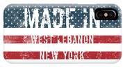 Made In West Lebanon, New York IPhone Case