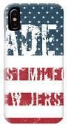 Made In West Milford, New Jersey IPhone Case