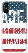 Made In West Ossipee, New Hampshire IPhone Case