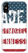 Made In Westmoreland, Tennessee IPhone Case