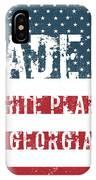 Made In White Plains, Georgia IPhone Case