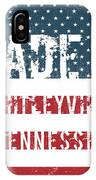 Made In Whitleyville, Tennessee IPhone Case