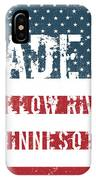 Made In Willow River, Minnesota IPhone Case