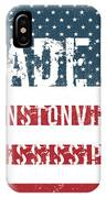 Made In Winstonville, Mississippi IPhone Case