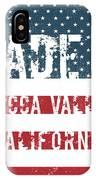 Made In Yucca Valley, California IPhone Case