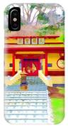 Mahayana Buddhist Temple 1 IPhone X Case